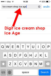 Digit ice cream Ice Age