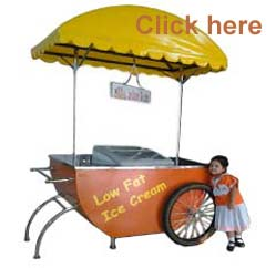 Ice cream cart for improve your sale
